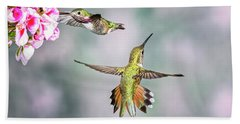 Hummer Heaven Beach Towel