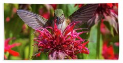 Hummingbird At Eagles Nest Beach Towel