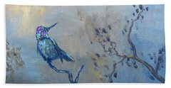 Humming Bird Beach Towel