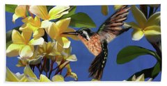 Hummingbird 01 Beach Towel