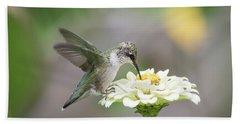 Hummingbird 2016-2 Beach Sheet by Thomas Young