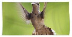 Hummingbird Hello There Beach Towel