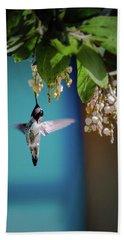 Hummingbird Moment Beach Towel