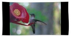 Hummingbird  Beach Sheet