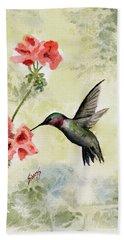 Hummingbird Beach Sheet by Sam Sidders