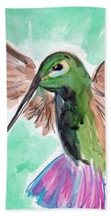 Hummingbird4 Beach Towel