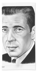 Humphrey Bogart Beach Towel