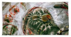 Beach Towel featuring the photograph Hung Up And Strung Out by Wayne Sherriff