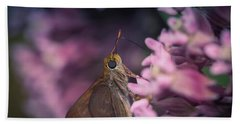 Hungry Moth Beach Towel
