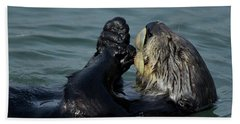 Hungry Sea Otter Beach Sheet