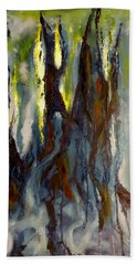 Hunted Forest Beach Towel
