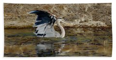 Hunting For Fish 5 - Digitalart Beach Towel