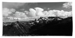 Hurricane Ridge Beach Towel