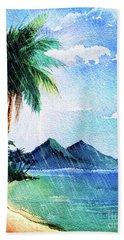 Hurricane Season Beach Towel