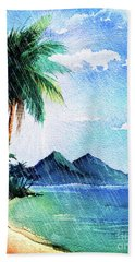 Hurricane Season Beach Towel