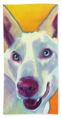Husky - Charlie Beach Towel