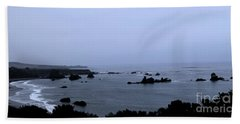 Hwy 1 San Simeon Beach Towel