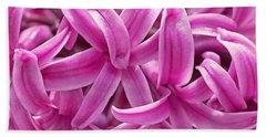 Hyacinth Pink Pearl Beach Sheet