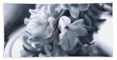 Hyacinth Plated Beach Towel by Susan Capuano
