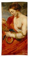 Hygeia - Goddess Of Health Beach Towel