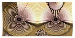 Hypnotic Beach Sheet by Ron Bissett
