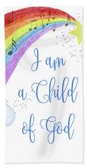 I Am A Child Of God Beach Sheet