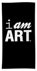 I Am Art- Shirt Beach Towel