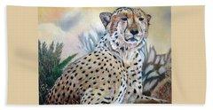 I Am Cheetah 2 Beach Sheet