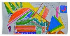 I Dig Vassily Beach Sheet by J R Seymour