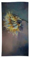 I Feel Like A Sunflower Painting Beach Sheet