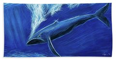 I Fight For Clean Waters Beach Towel by Angela Treat Lyon