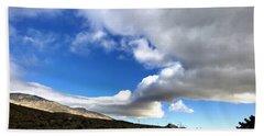 I Follow The Clouds Beach Sheet