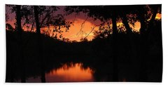 Beach Towel featuring the photograph I Found Red October by J R Seymour