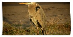 I Know They Are Coming Wildlife Art By Kaylyn Franks Beach Towel