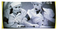 I Love Lucy Beach Towel