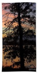 I Saw Her Standing There - Silhouette Of A Dream  Beach Towel