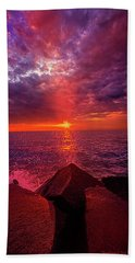 Beach Towel featuring the photograph I Still Believe In What Could Be by Phil Koch