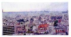 I Still Have Paris Beach Sheet by Susan Maxwell Schmidt