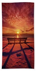 Beach Sheet featuring the photograph I Will Always Be With You by Phil Koch