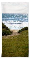 I Will Follow - Ocean Photography Beach Towel