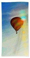 Icarus' Dream Beach Towel by Steve Warnstaff