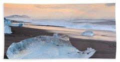 Ice Beach Beach Towel