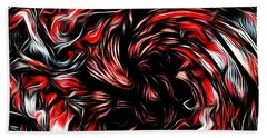 Ice Breaker Red Beach Towel