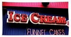Ice Cream Anyone Beach Sheet