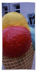 Ice Cream Cone Beach Sheet