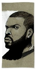 Ice Cube Beach Sheet