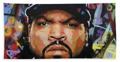 Ice Cube Beach Towel
