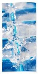 Ice Cubes Beach Towel
