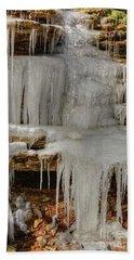 Ice Flow Beach Towel