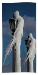 Ice Lamp Ladies Beach Towel